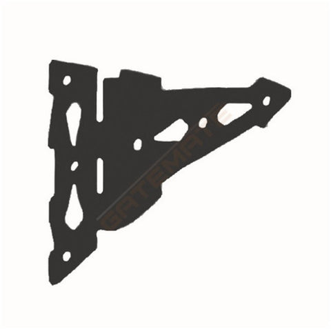 Large Black Steel Hinges