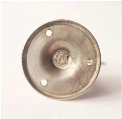 1920's Nickle Ball End Bathroom Hook