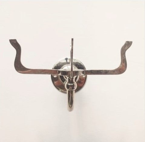 Nickel Antique Prong Soap Dish Holder