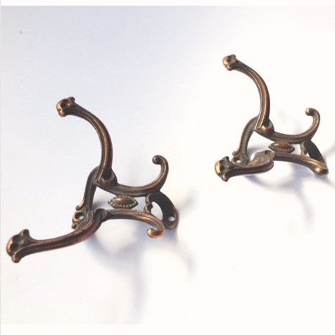 Iron Copper Wash Double Hook (2 available)