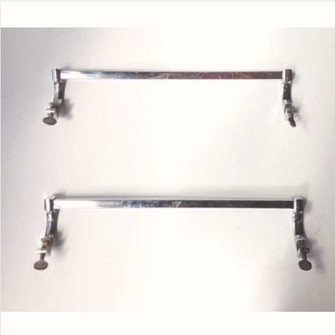 Screw-On Sink Side-Mounted Towel Bars (pair)