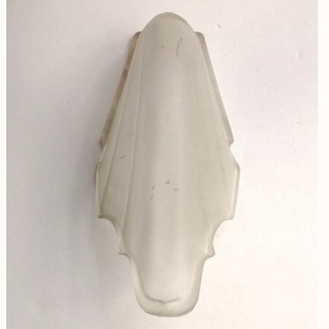 Clear Frosted Antique Slipper Shade