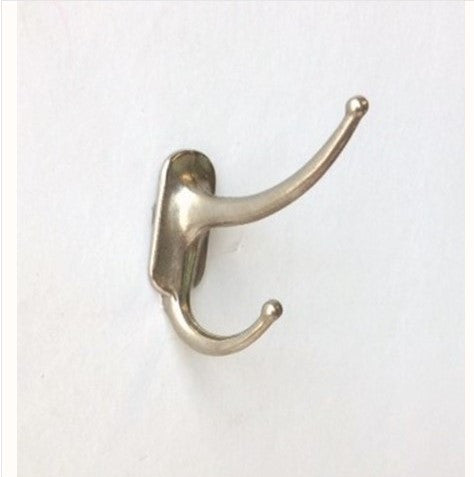 Tiny 1920's Nickle Screw-In Hook