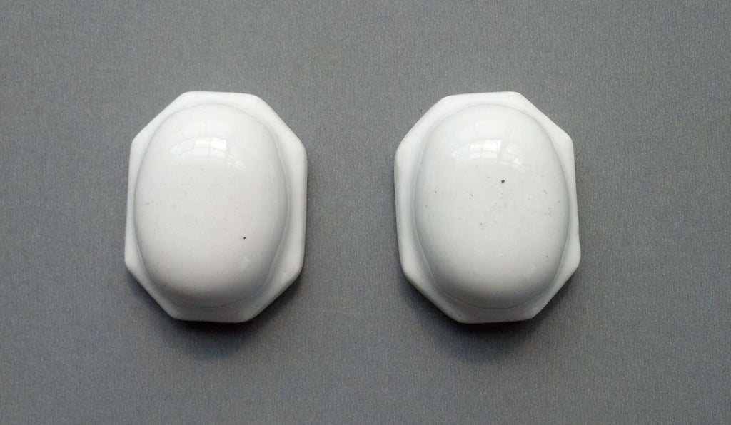 Octagonal Ceramic Toilet Bolt Covers