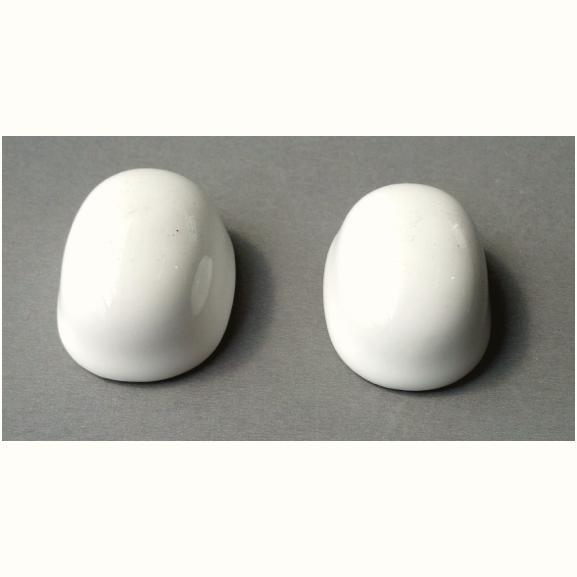Round and Oval Ceramic Toilet Bolt Covers
