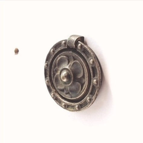 Mission Arts Crafts Ring Pulls (2 available)