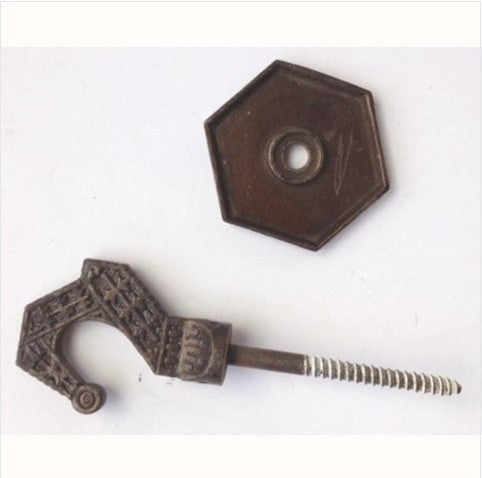 Windsor Victorian Ceiling Hook with Back Plate