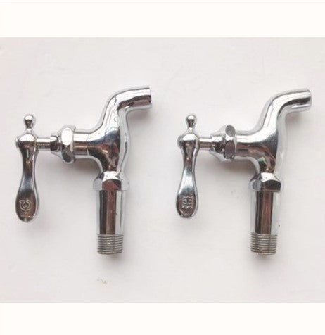 Vintage Calco Wall Mount Hot Cold Faucet Taps (Pair)