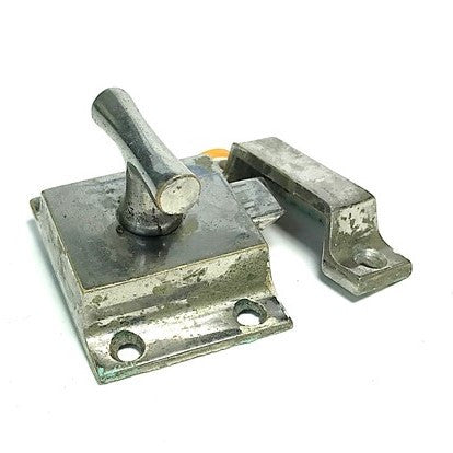 Nickel T Handle Nouveau Cabinet Cupboard Latch