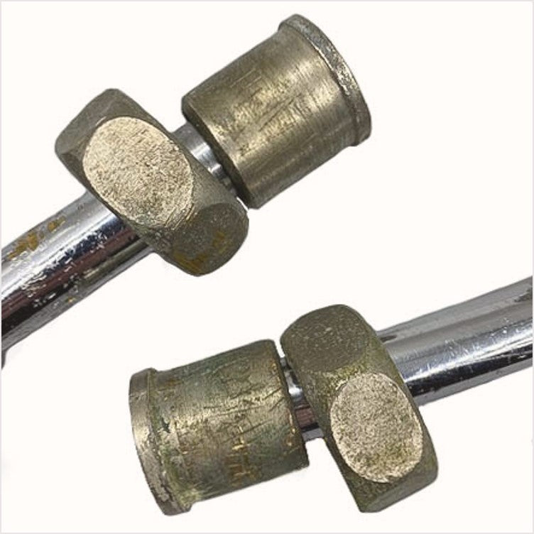 Crane Extended Chrome Angle Stops (Pair)