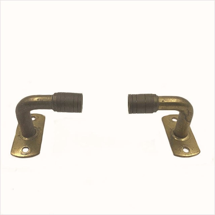 Cafe Curtain Rod Ends Hardware
