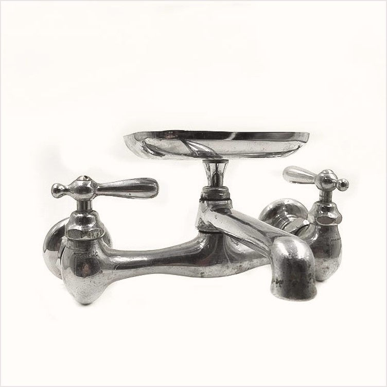 Standard Chrome Kitchen Faucet with Soap Dish