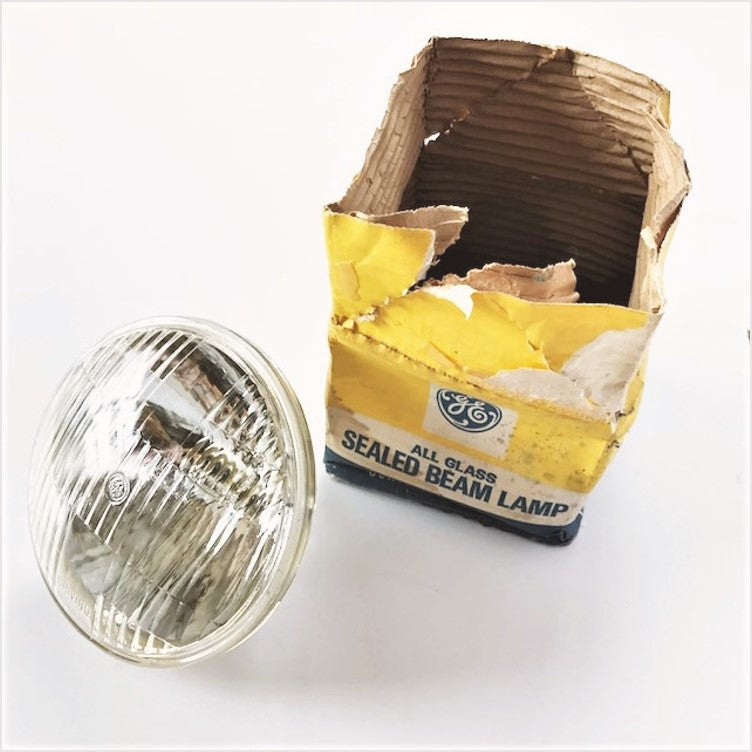New Old Stock GE Car Auto Headlights Bulbs