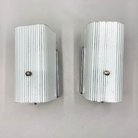 Mid-Century Bathroom Wall Sconces