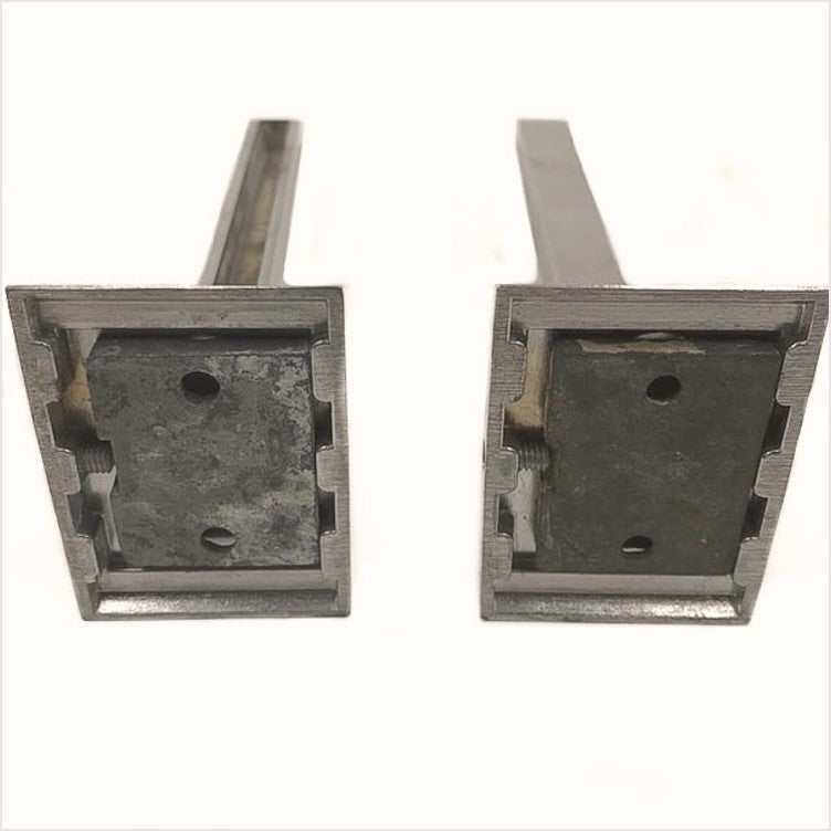 Hall-Mack Mid-Century Chrome Shelf Brackets (pair)