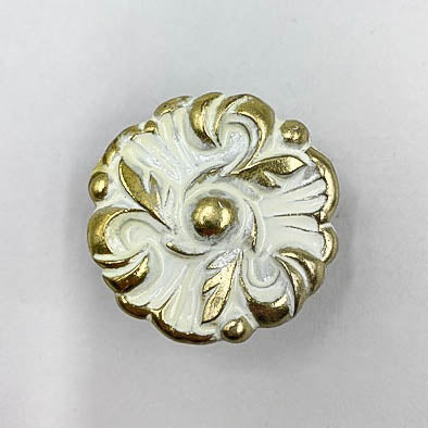 Faux French Provencial Regency Floral Knobs