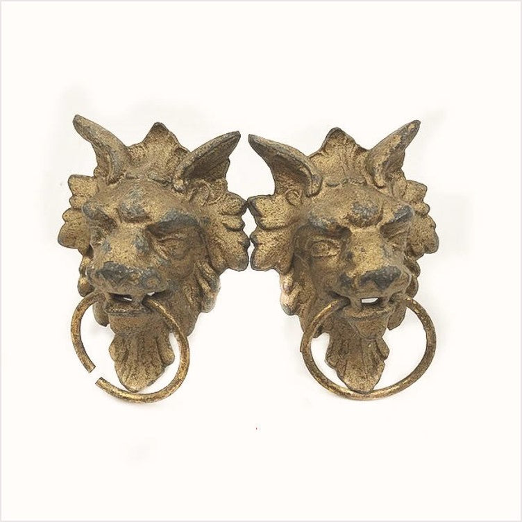 Lion Dragon Victorian Ring Pull (2 available)