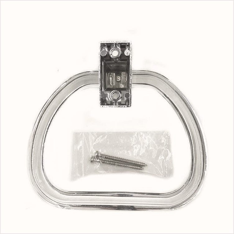 Lucite Reproduction Towel Ring NOS