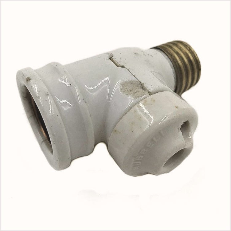 Hubbell Screw In Socket and Outlet Porcelain