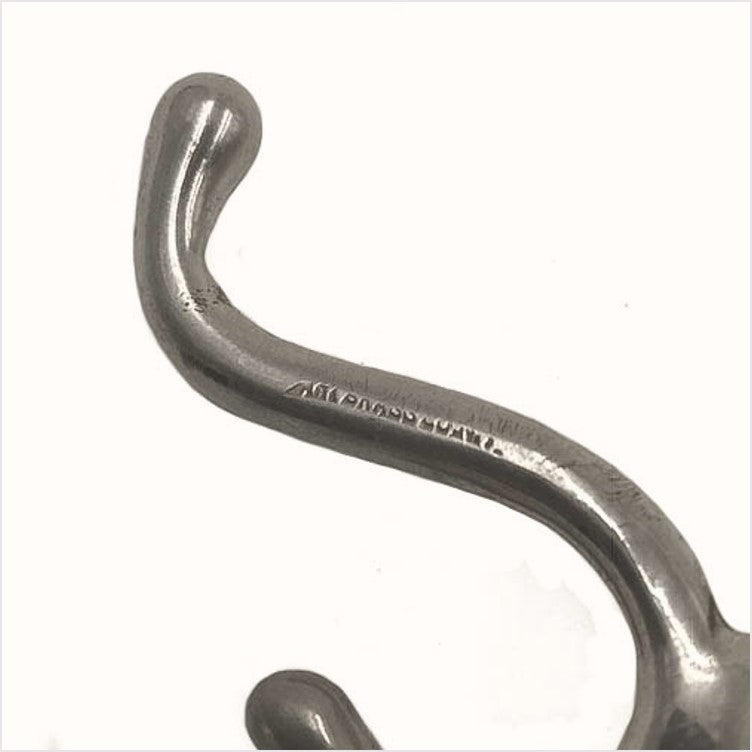 Art Brass Small Nickel Bathroom Hooks