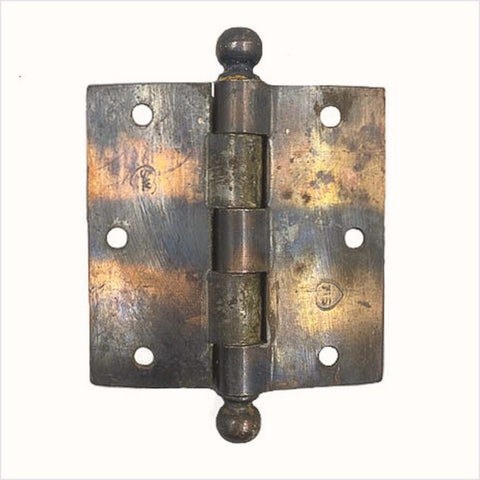 "Copper Japanned Stanley Sweetheart Ball Tip 3.5"" Hinges"