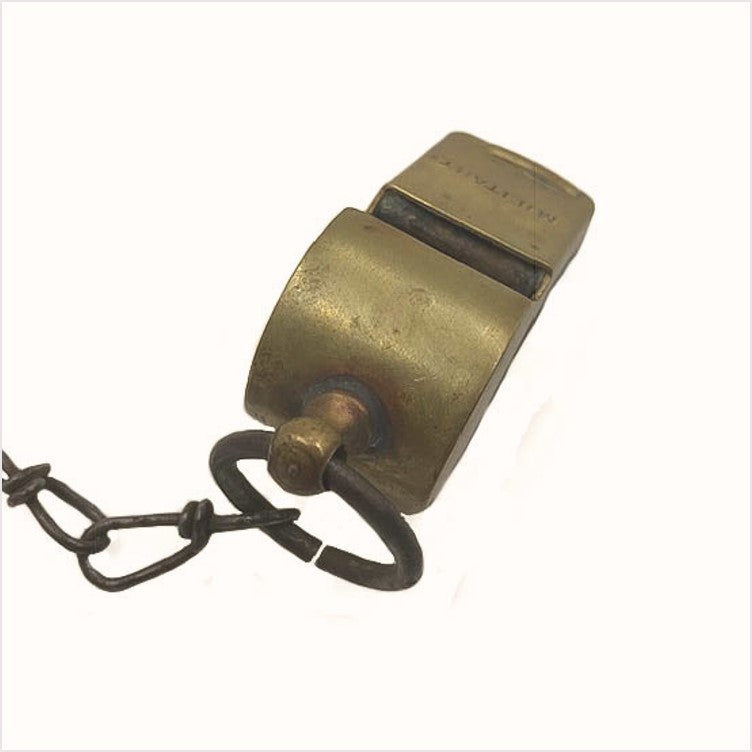 Brass World War 2 Military Whistle