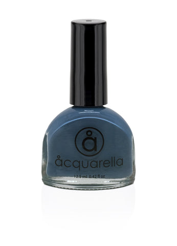 Acquarella Nail Polish, Blue Steel