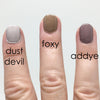 Color comparison of Foxy with Dust Devil and Addye
