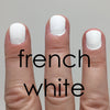 Acquarella Nail Polish, French White