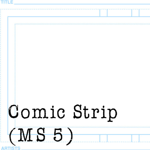 Comic Strip Page Templates for Clip Studio Paint/Manga Studio 5