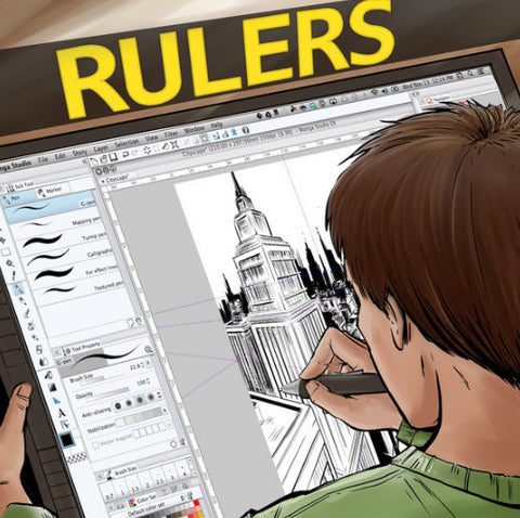 Rulers: A Manga Studio 5 / Clip Studio Field Guide