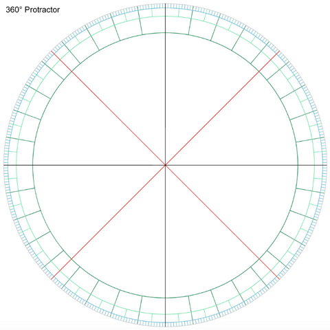 Protractor for Clip Studio Paint/Manga Studio 5