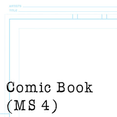 Comic Templates for Manga Studio 4 Debut/EX