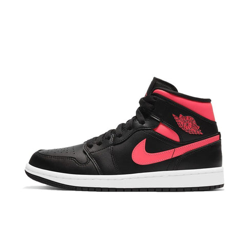 Air Jordan 1 Mid Black Siren Red