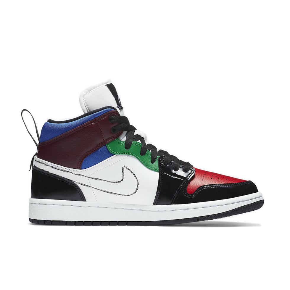 Air Jordan 1 Mid SE Multi-Color - UnityWorldWild