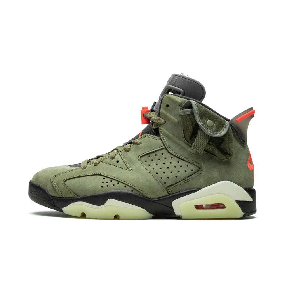Air Jordan 6 Retro Olive Travis Scott
