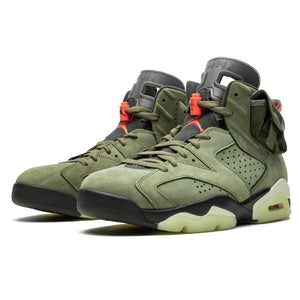 Air Jordan 6 Retro Olive Travis Scott - UnityWorldWild