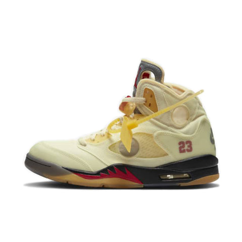 Air Jordan 5 Retro Off-White Sail - UnityWorldWild