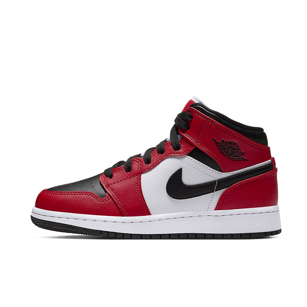 Air Jordan 1 Mid Chicago Black Toe - UnityWorldWild