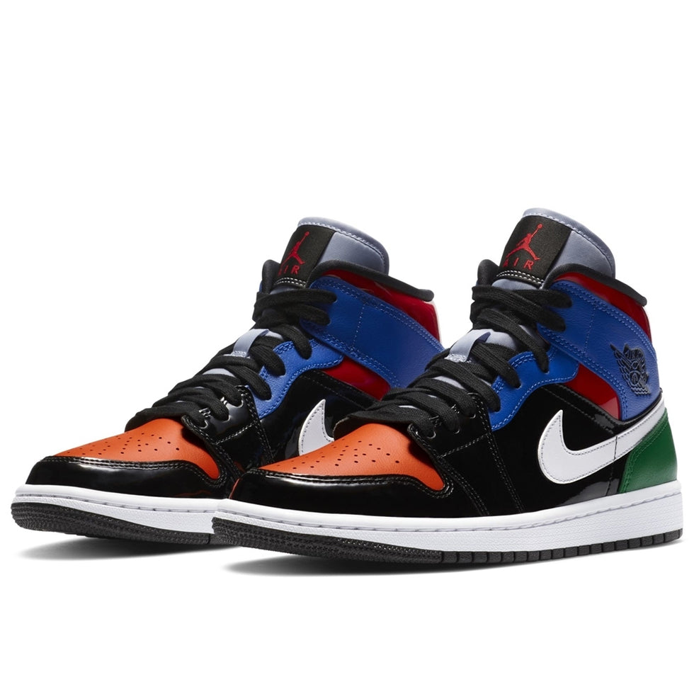 Air Jordan 1 Mid SE Multi Patent
