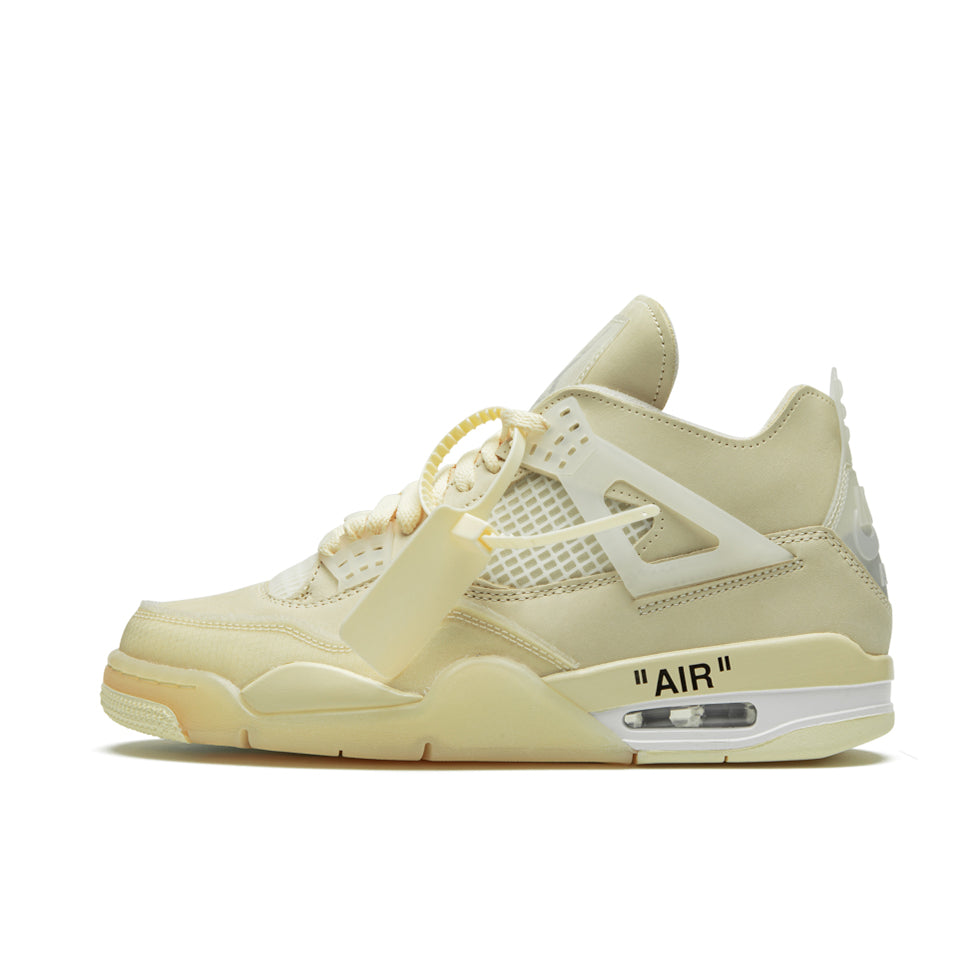 Air Jordan 4 Retro SP Sail x Off-White - UnityWorldWild