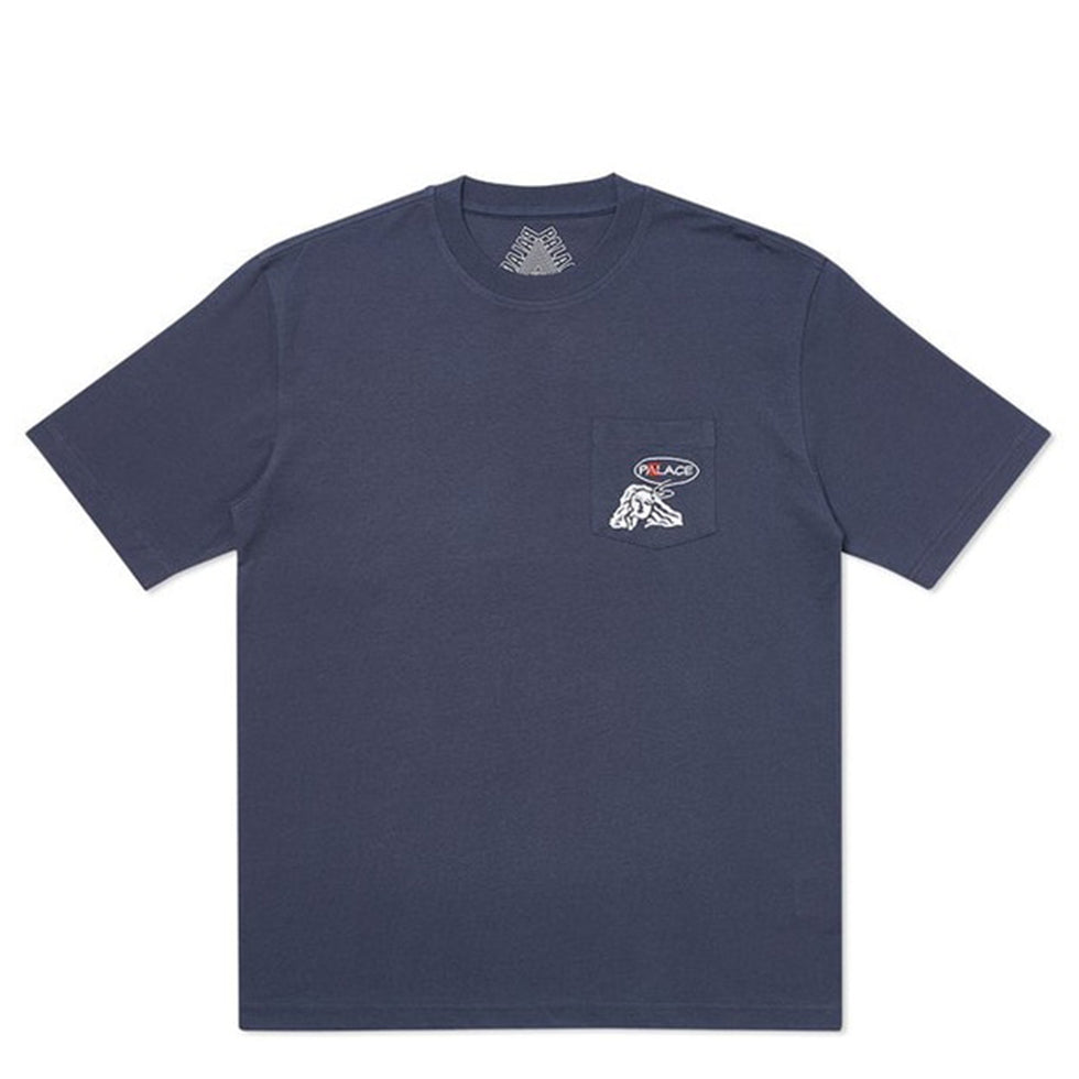Palace Peace Pocket Navy T-Shirt - UnityWorldWild