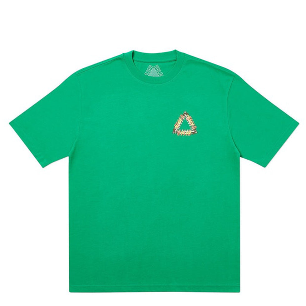 Palace Tri-Pumping Green T-Shirt - UnityWorldWild