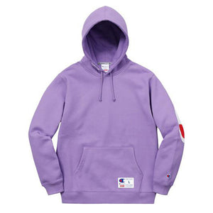 Supreme Champion Hooded Sweatshirt Light Purple - UnityWorldWild
