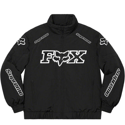Supreme x Fox Racing Puffy Jacket Black - UnityWorldWild