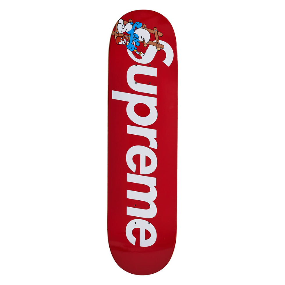 Supreme x Smurfs Skateboard Red - UnityWorldWild