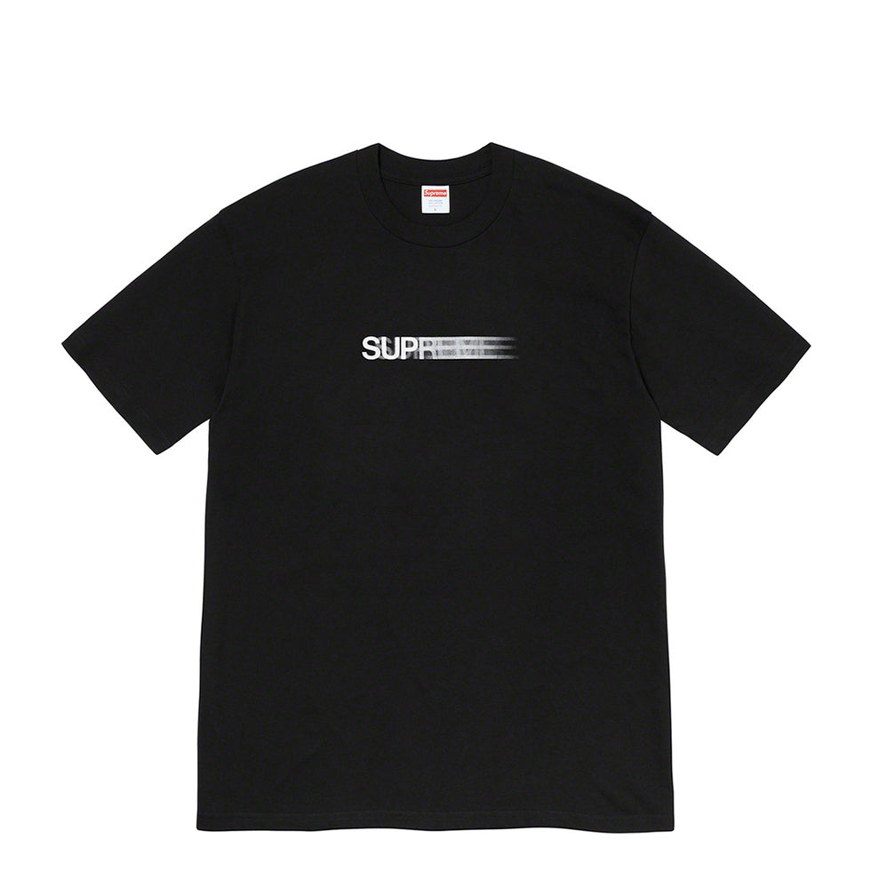 Supreme Motion Logo Tee Black (SS20) - UnityWorldWild