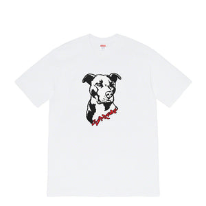 Supreme Pitbull White Tee