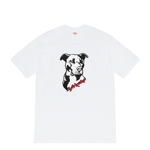 Supreme Pitbull White Tee - UnityWorldWild