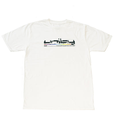 Unity Binary Logo White T-Shirt - UnityWorldWild